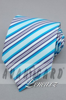 Kravata klasik-tyrkysová 101130
