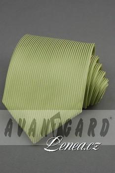 Kravata klasik-zelená 4110