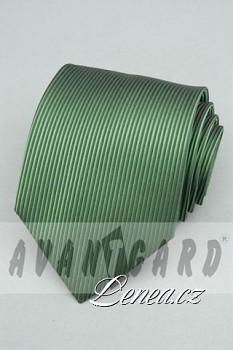 Kravata klasik-zelená 4120