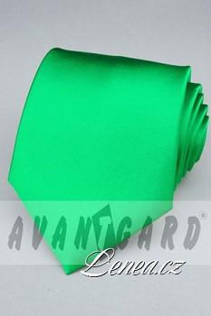 Kravata klasik-zelená 7740
