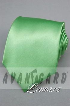 Kravata klasik-zelená 7800
