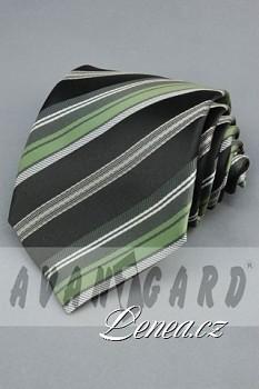 Kravata klasik-zelená 102010
