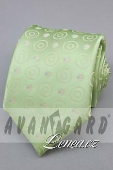 Kravata klasik-zelená 12050
