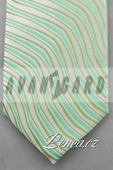 Kravata klasik-zelená 12110
