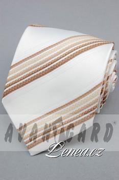 Kravata klasik-béžová 101010