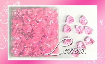 Ledové krystaly-růžové