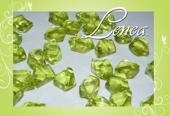 Ledové krystaly-zelené