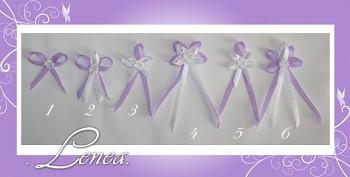 Vývazky(voničky)-sv.fialkové - tvar 1