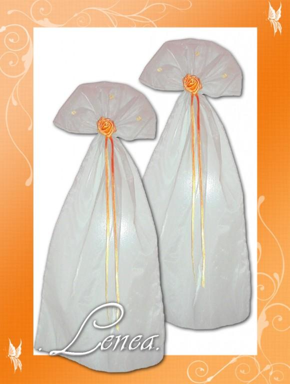 Organzova Dekorace Oranzova Svatebni Doplnky A Dekorace Potahy Na