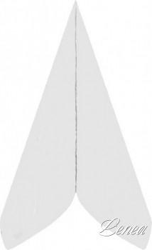 Ubrousky PREMIUM 40x40 cm bílé /bal.50 ks