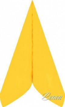 Ubrousky PREMIUM 40x40 cm žluté /bal.50 ks