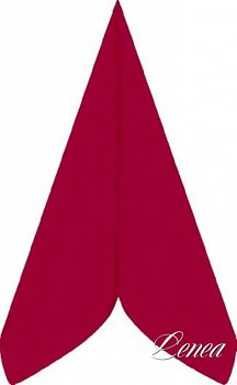 Ubrousky PREMIUM 40x40 cm červené/bal.50 ks