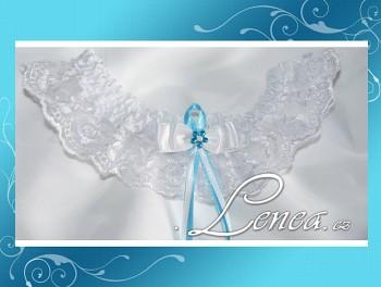 Svatební podvazek-TYRKYS 2