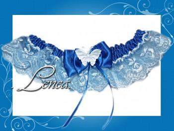 Kolekce 2010-tm.modrý podvazek - vel. s,m,l