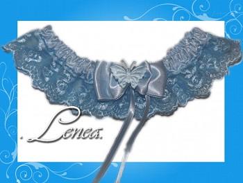 Kolekce 2010-sv. modrý podvazek - vel. s,m,l