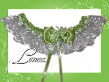 Kolekce 2010-zelený podvazek - vel. s,m,l