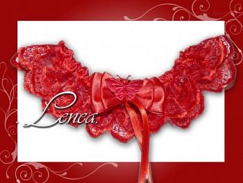 Kolekce 2010-červený podvazek - vel. s,m,l