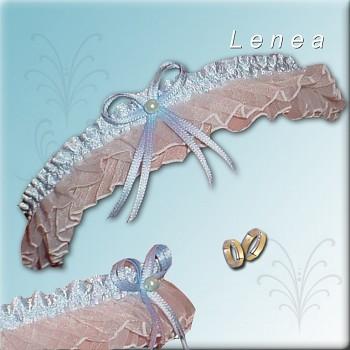 Svatební podvazek-Blue 5 - vel. s,m,l