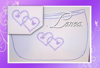 Bryndák pro novomanžele-Duo lila
