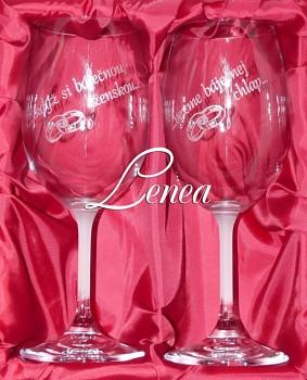Skleničky na víno-Když si báječnou ženskou... vezme báječnej chlap..