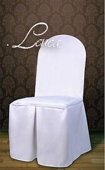 Potahy na židle kulaté opěradlo sada 50ks-matné