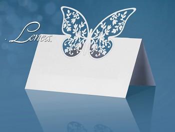 Jmenovka s motýlkem -bal.10ks