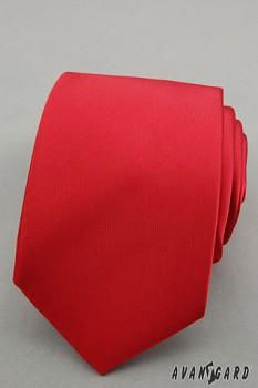Kravata LUX-561144040-červená