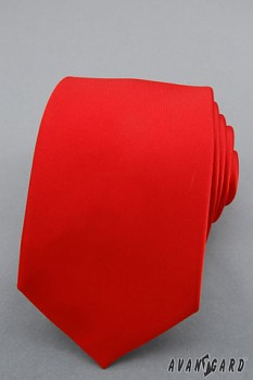 Kravata LUX-červená-561144050