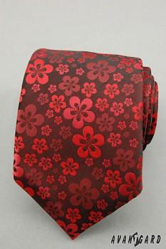 Kravata LUX-červená-56116030