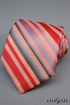 Kravata LUX-červená-561701040
