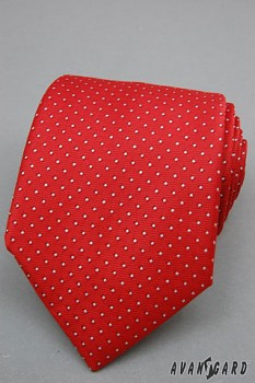 Kravata LUX-červená-561807030