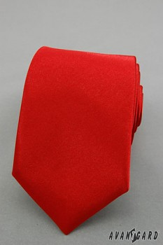 Kravata LUX-červená-56190050