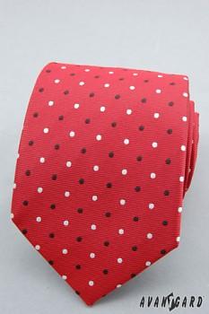Kravata LUX-červená-56196760