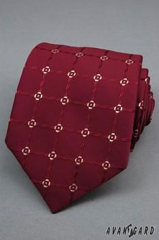 Kravata LUX-bordó-561804330