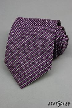 Kravata LUX-tóny fialové-561913170