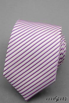 Kravata LUX-tóny fialové-56195860