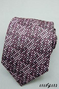 Kravata LUX-tóny fialové-56196230