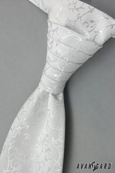 Pánská Regata Premium s kapesníčkem bílá 95500