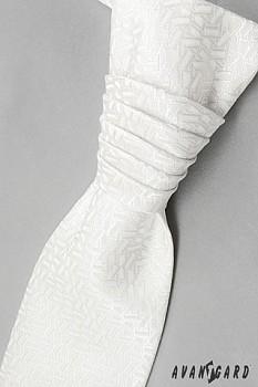 Pánská Regata Premium s kapesníčkem bílá 95810