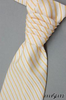 Pánská Regata Premium s kapesníčkem žlutá 0907090
