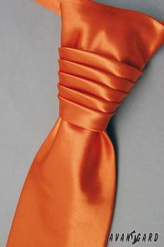 Pánská Regata Premium s kapesníčkem oranžová 90250