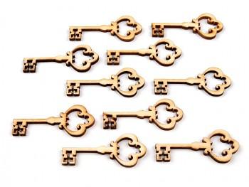 Dřevěný klíček