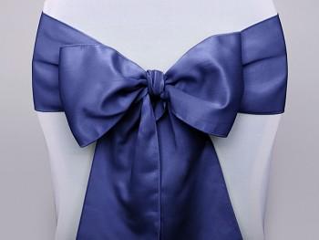 Mašle na židli modrá námořnická-zapůjčení