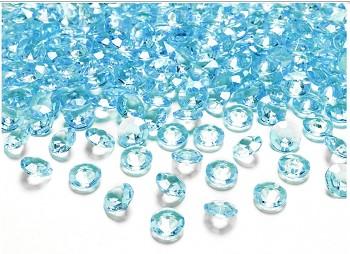 Dekorační mini diamanty tyrkysové
