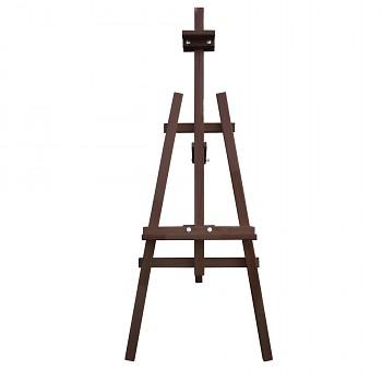 Dřevěný stojan tmavě hnědý- zapůjčení