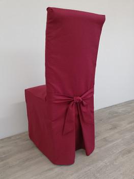 POTAH na čalouněnou židli-dlouhý-mnoho barev